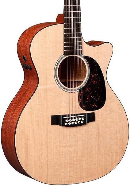 Martin gpc12 Pa4 Grand Performance + Maletín – Guitarra electroacústica (12 cuerdas eléctrico