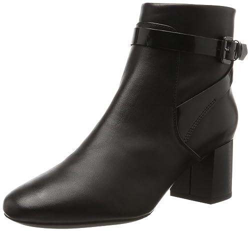 y Zapatos Mujer B Audalies Botas Geox D Amazon para es Mid fvxz7q