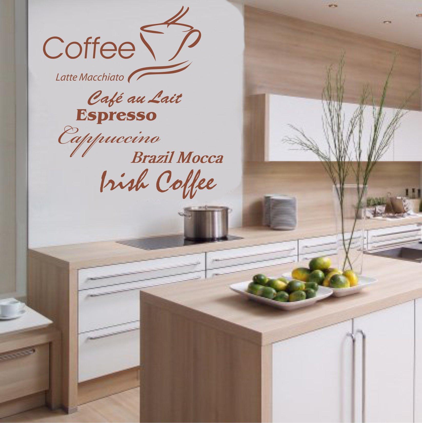 Bezaubernd Küchen Wandtattoo Foto Von Indigos W198 Küche Kaffee Mit Coffee, Csuperbuccino
