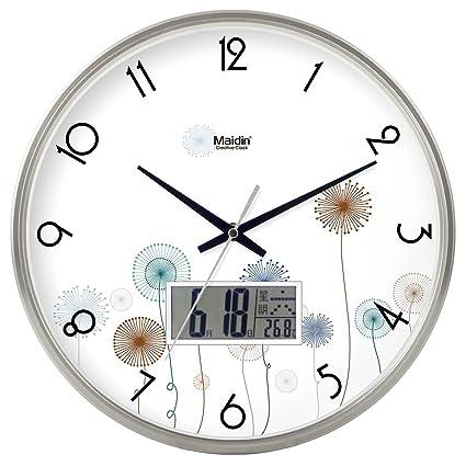 CYH moda oficina creativa simple Silent reloj de pared para salón o dormitorio de cocina