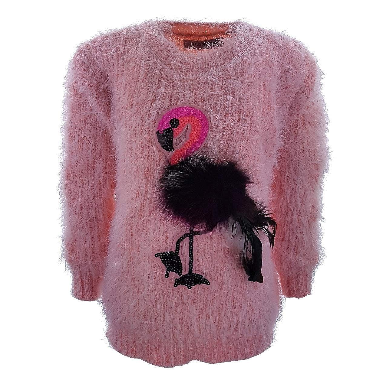 Girls Fashion Mä dchen Kuschel Pullover, MS63