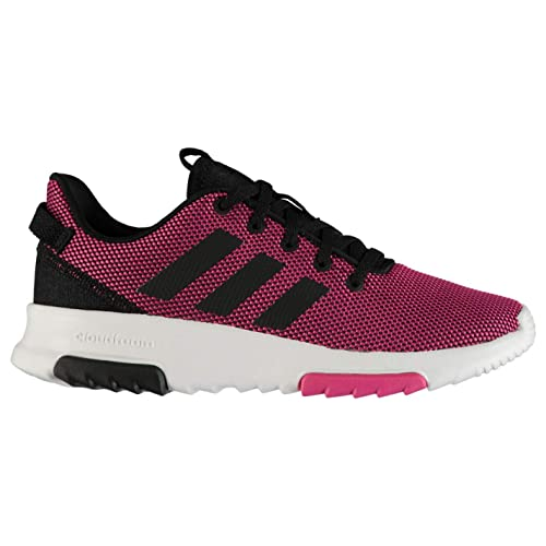 Adidas Kids Girls Shoes Running Cloudfoam Racer TR Fashion Trainers New  B75659 (US 2.5) 4ea7a66ebb18