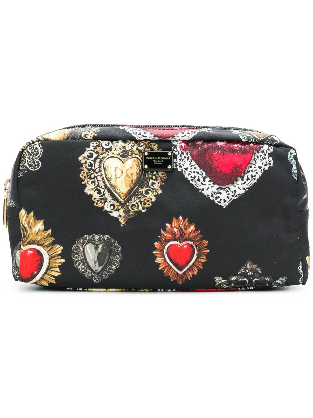Dolce E Gabbana Women's Bi0932an968hnm69 Black Polyamide Beauty Case