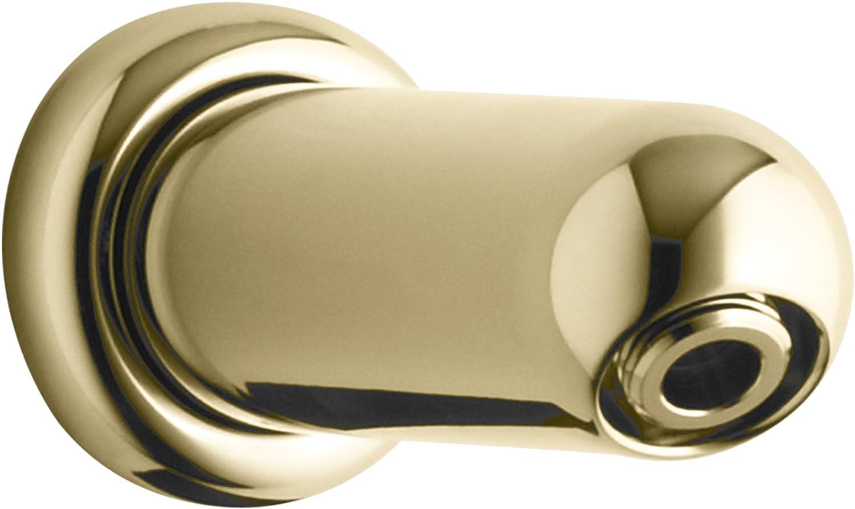 KOHLER K-9512-PB MasterShower Showerarm, Vibrant Polished Brass