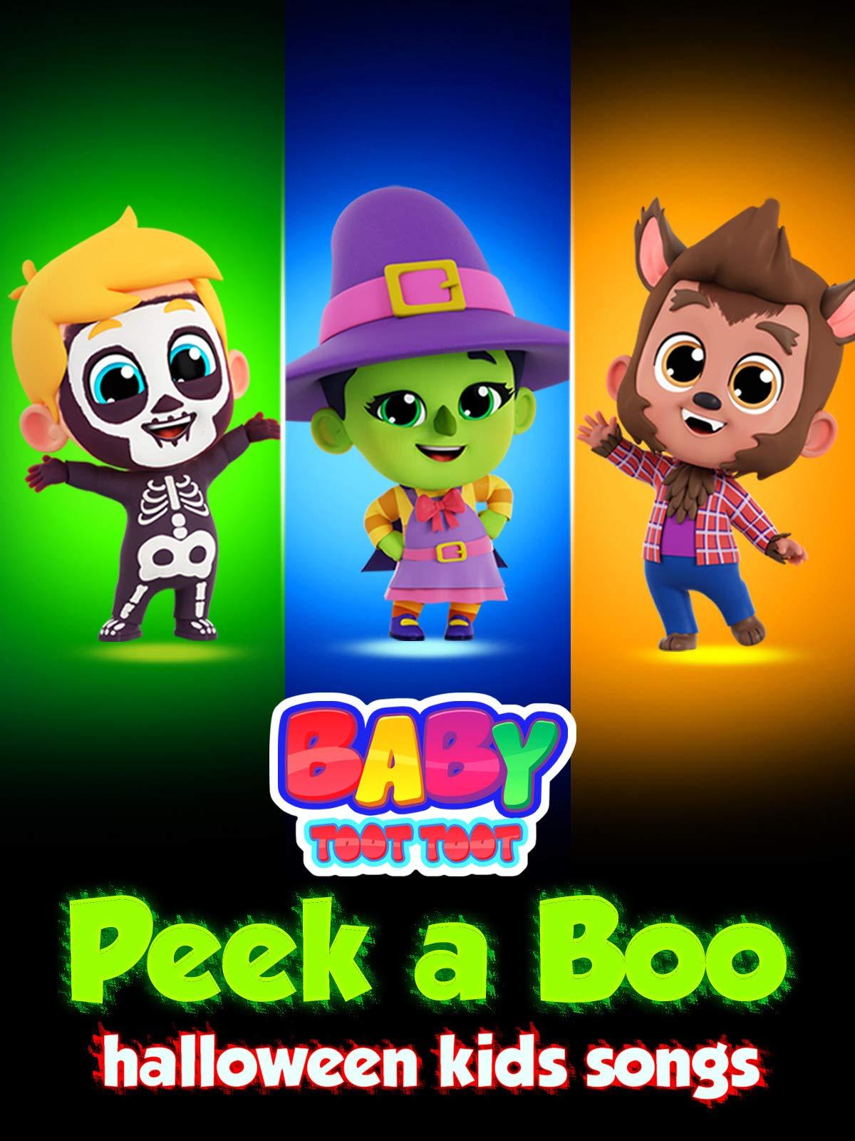 Peek a Boo Halloween Kids Songs - Baby Toot Toot on Amazon Prime Video UK