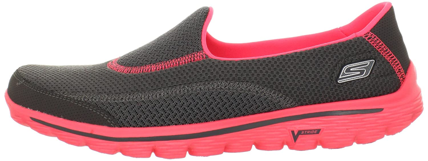Skechers Mujer GO Walk 2 - Illumination Zapatillas de Gimnasia 35 EU: Amazon.es: Zapatos y complementos