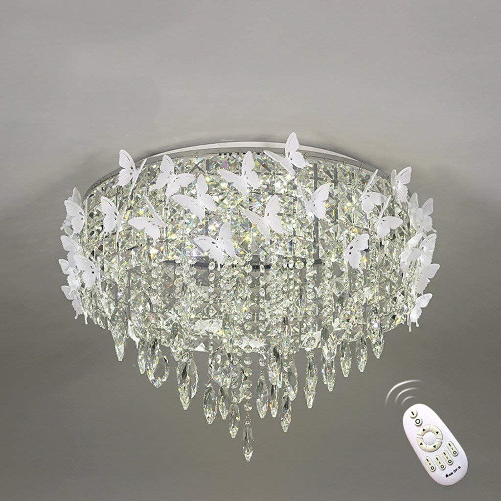 110V Crystal Ceiling Lights Chandelier LED Light Lamp Bedroom Living Room Lights