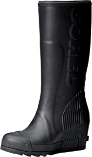 3fa58b24aa50 Sorel Women s Joan Tall Rain Wedge Boots