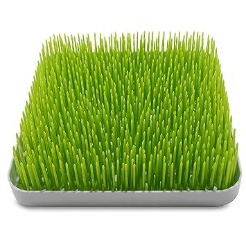 Baby Bottle Lawn Drying Rack Large Dish Rack Grass Countertop Green