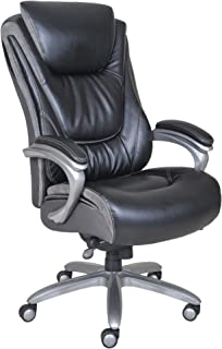 Ordinaire Serta Big And Tall Smart Layers Blissfully Executive Office Chair, Black
