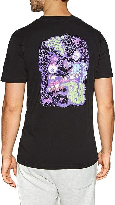 Santa Cruz Robface 2 - Camiseta de manga corta negro L ...