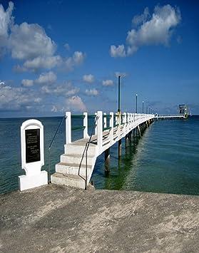 A.Monamour 1.5X2.1M Vinilo Playa Playa Cielo Azul Mar Temporada De Verano
