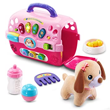 86d8ee1bf VTech Care for Me Learning Carrier (English Version), Toys & Games - Amazon  Canada