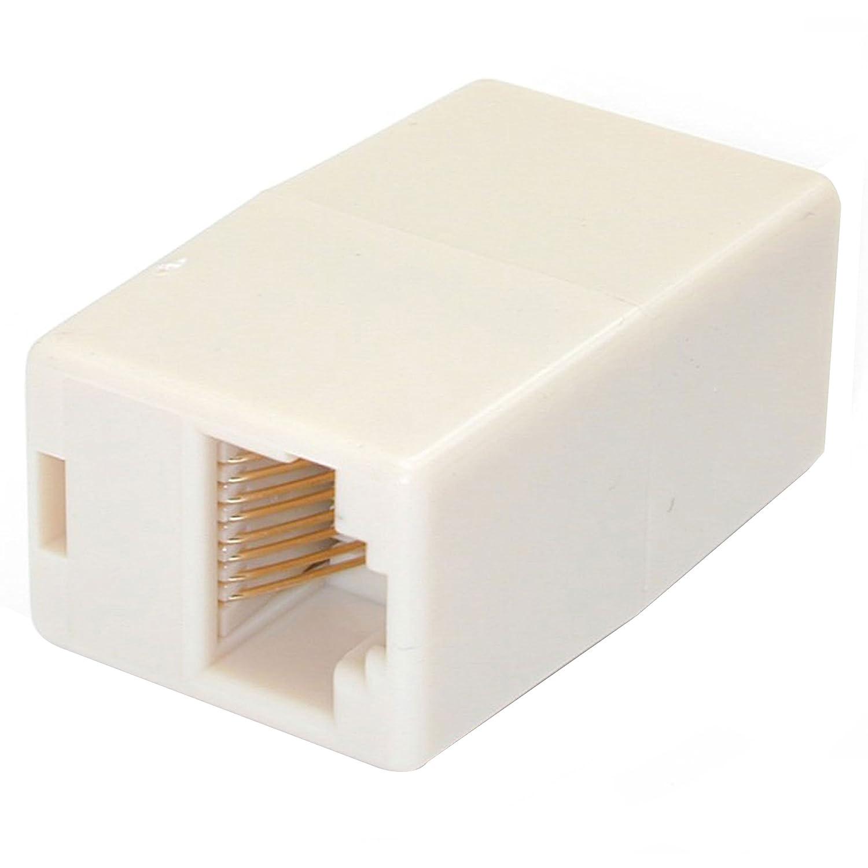 STARTECH.COM Accoppiatore Cavi Ethernet, Accoppiatore Modulare RJ45 Cat5e, Prolunga Femmina/Femmina RJ45, Confezione da 10 Startechcom RJ45COUP10PK accoppiatoreCat5 accoppiatoreRJ45 adattatorefemminafemminarj45 prolungacavoethernet rj45femminafemmina