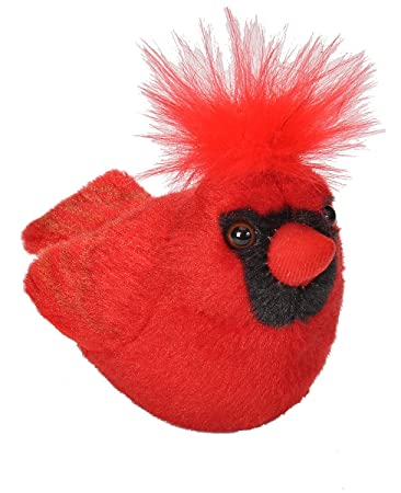 Amazon Com Wild Republic Audubon Birds Northern Cardinal Plush With