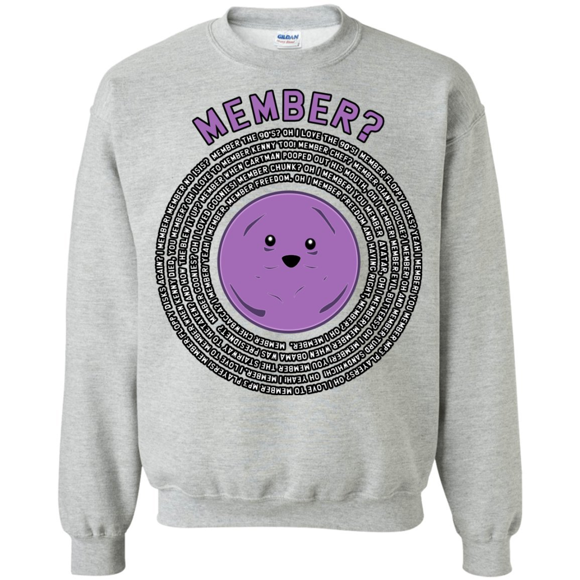 ThatMerch.Store Member Berries Member All The Old Times Quotes Sweatshirt