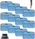 I clean 12Packs Pads for iRobot Braava 380 380t 320 Mint 4200 5200, Replacement iRobot Braava Vacuum Wet Mops/Washable…