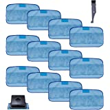 I clean 12Packs Pads for iRobot Braava 380 380t 320 Mint 4200 5200, Replacement iRobot Braava Vacuum Wet Mops/Washable Pro-Cl