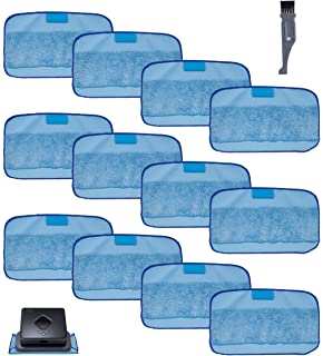 I clean Compatible with iRobot Braava 380 380t 320 Mint 4200 5200 Pads 12-Pack