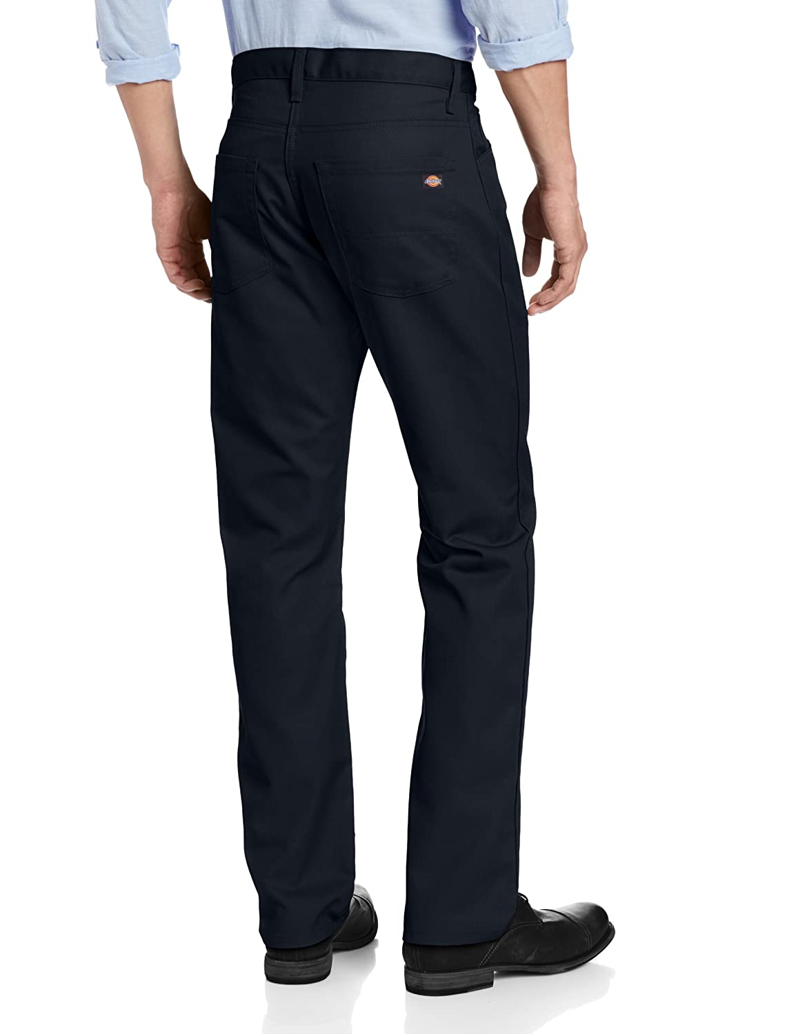 6e5d8e280a4d65 Dickies Men's Slim Straight Fit Light Weight 5-Pocket Twill Pant:  Amazon.co.uk: Clothing
