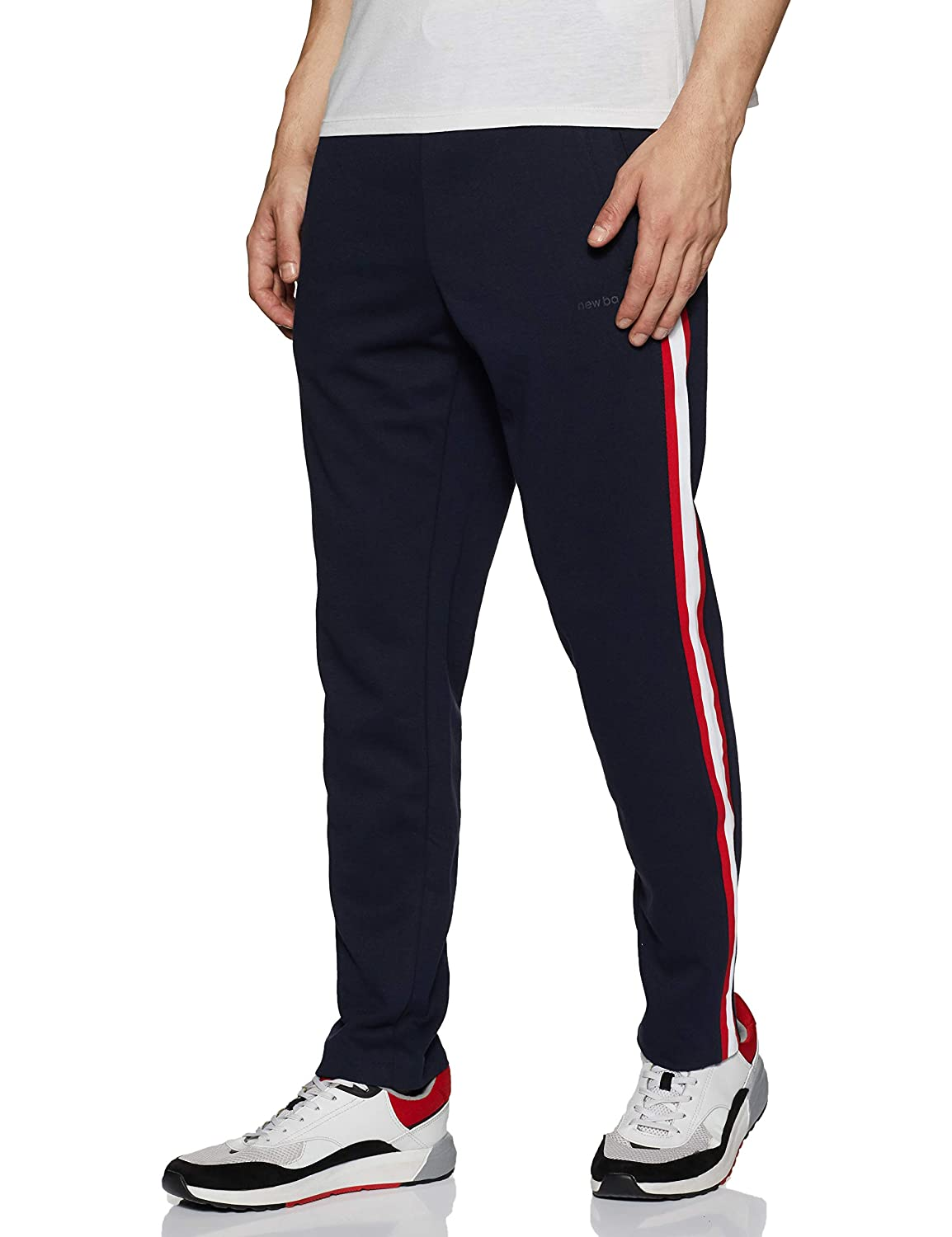 a50d4e54a7fd9 new balance Men's Regular fit Track Pants: Amazon.in: Clothing & Accessories