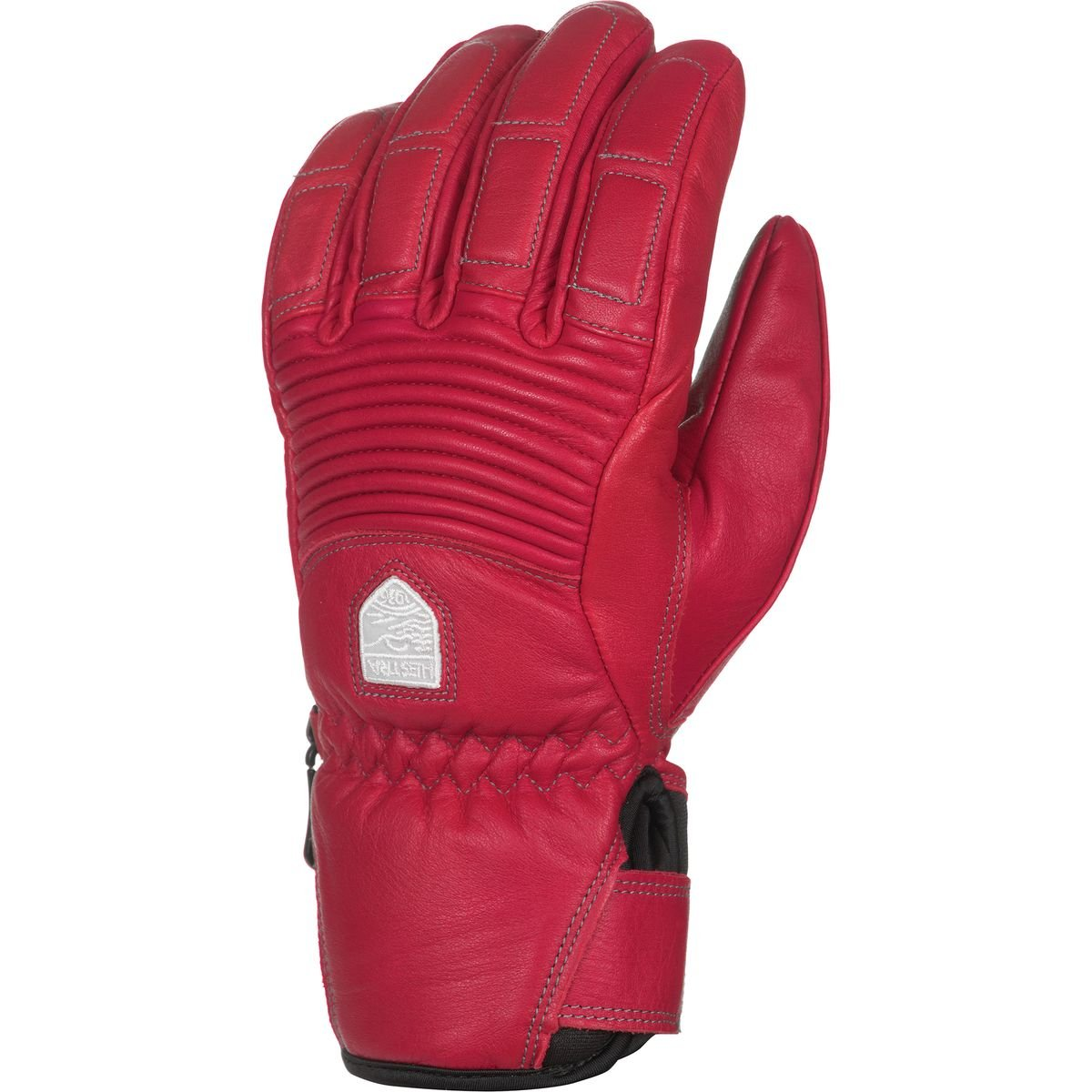 Hestra Gloves 30210 Women's Leather Fall Line, Red/Red - 7