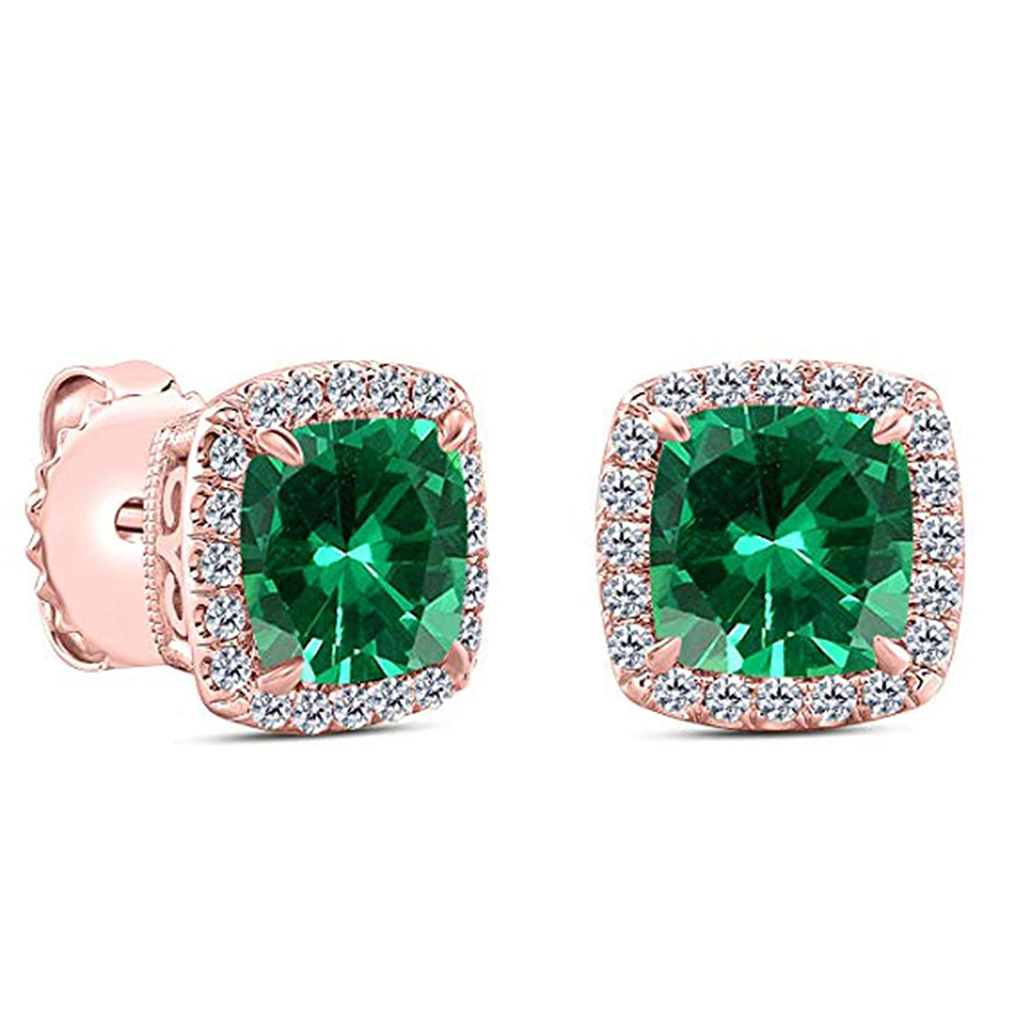 Suhana Jewellery Stud Earrings Collections 14K Gold Fn CZ for Girls Womens Daily Party Wear Jewellery