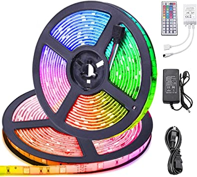 Details about  /5M LED Strip Light 3528 SMD RGB Green Waterproof  Flexible Lights For nightclub