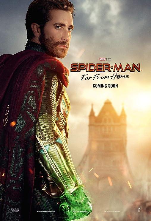 Lionbeen Spider Man Far from Home Movie Poster Cartel de la ...