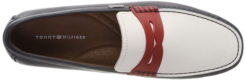 Tommy Hilfiger Herren Classic Leather Penny Loafer Slipper