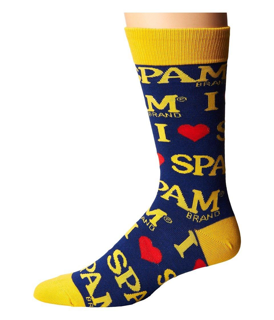 Socksmith Men's Spam Spam Blue Sock