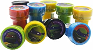 Ninja Turtles Stampers Party Favors (10 Stampers)