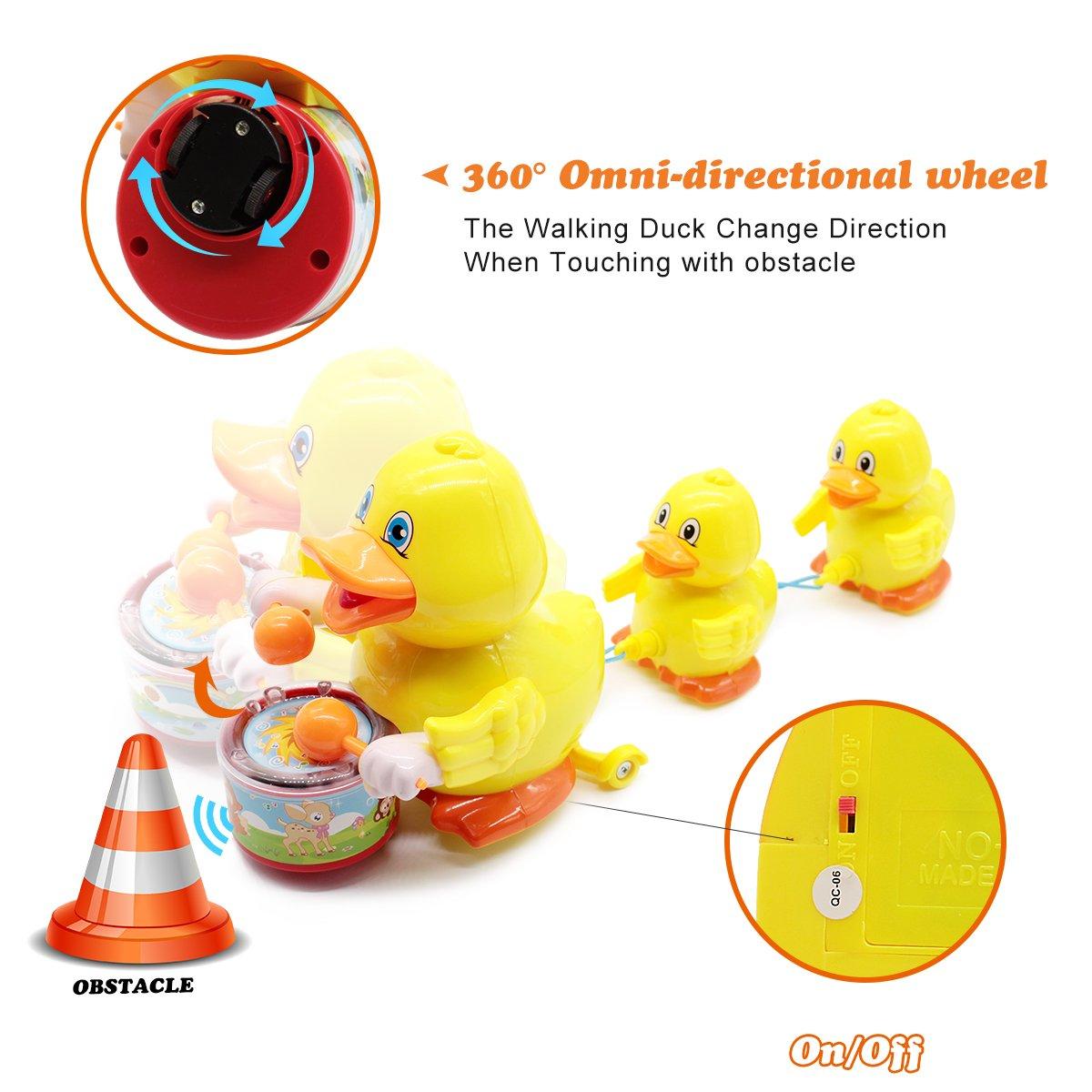 Amazon.com: Lydaz - Juguete de pato musical, juguete de ...