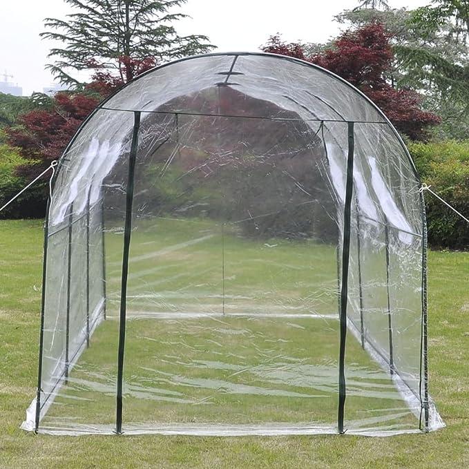 vidaXL Invernadero Portátil de PVC Transparente Caseta de Plantar Jardinería: Amazon.es: Jardín