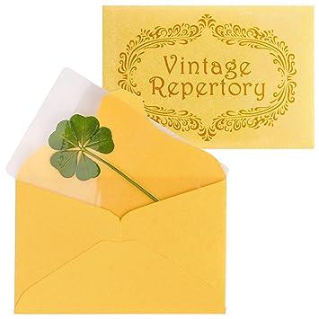 Amazon.com: Vintage repertorio auténtico 5 hojas verde ...