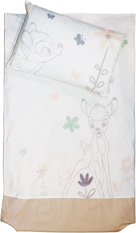 Bambi Parure De Couette Pour Bebe 80x160cm Blanc Alinea X1