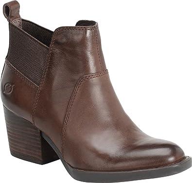 Womens Boots born black leather garcia grain kp7o36q6