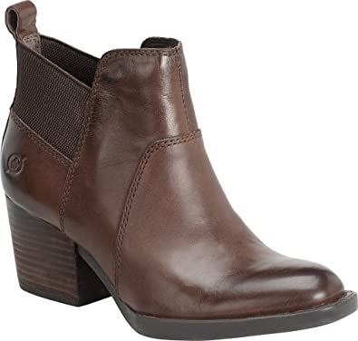Womens Boots born chocolate leather garcia grain sh8m00d8