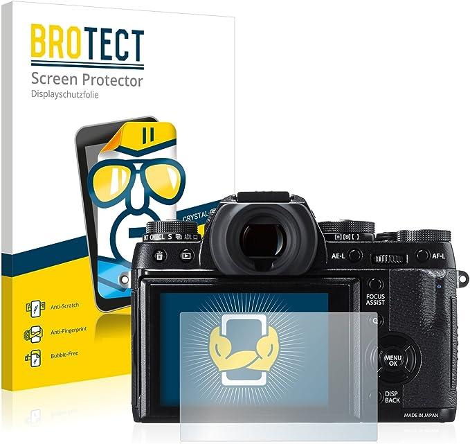 Brotect Schutzfolie Kompatibel Mit Fujifilm X T1 Klare Elektronik