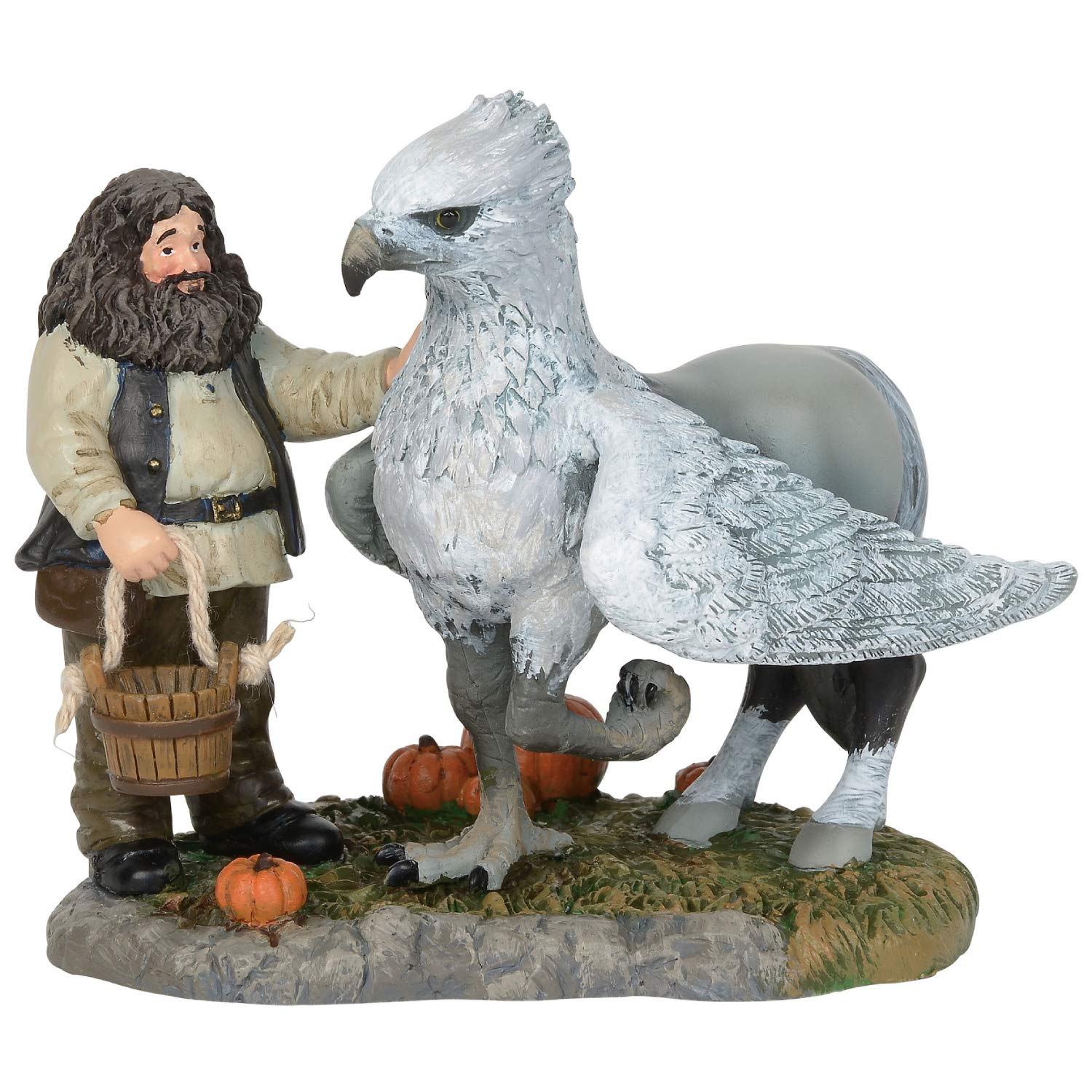 Department56 Harry Potter Village Accessories Proud Hippogriff Indeed Figurine, 3.35'', Multicolor by Department56
