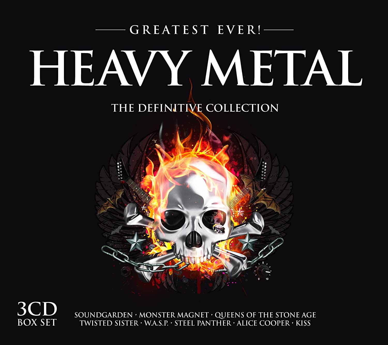 Greatest Ever ! Heavy Metal : The Definitive Collection