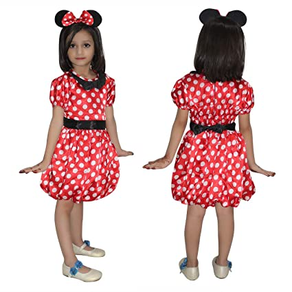 3aa1ba50d19 Buy KAKU FANCY DRESSES Girl Cartoon Costume for School Annual  Function Theme Party Stage Shows Competition Birthday Party Dress Online at  Low Prices in ...