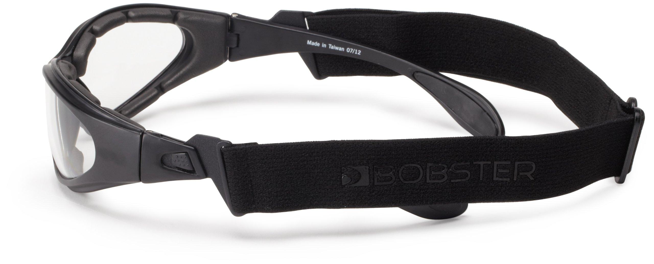 Bobster GXR Sport Sunglasses,Black Frame/Clear Lens,one size by Bobster (Image #7)