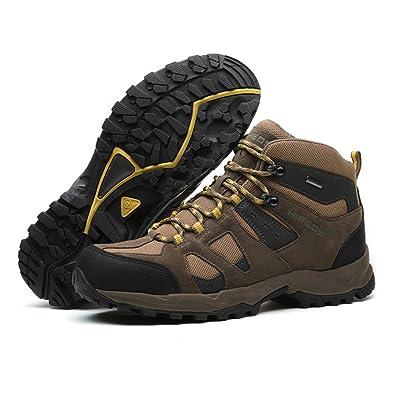 ff9b6d278dccd5 HIFEOS トレッキングシューズメンズレディース防水ハイカット大きいサイズ幅広ダイヤル防滑/登山靴/