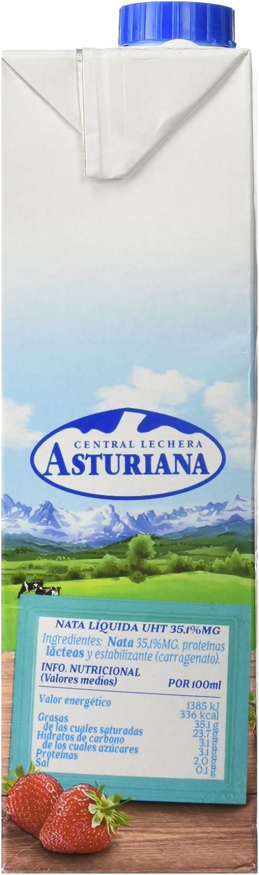 Central Lechera Asturiana Nata Liquida Uht, 1L: Amazon.es ...