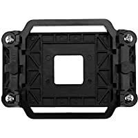 D2D Negro plástico CPU enfriador refrigeración retención ventilador disipador de calor soporte soporte soporte base para…