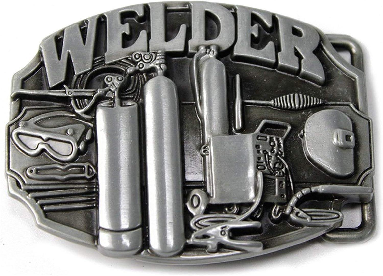 Western Cowboy Alloy Metal Vintage Men/'s Leather Belt Buckle Accessories