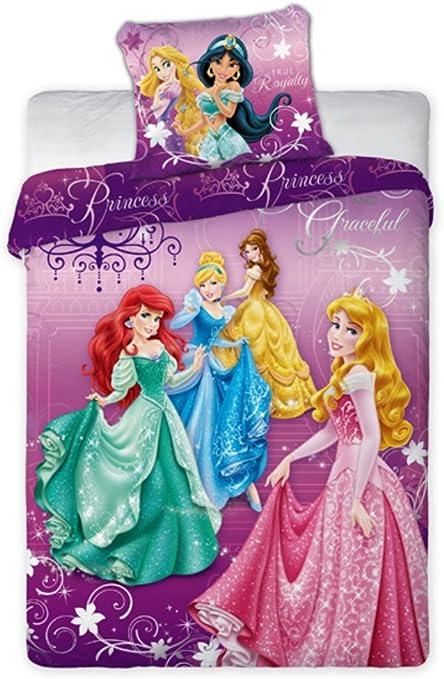 Copripiumino Principesse.Copripiumino Cotone Principesse Disney 160x200 Cm Federa 70x80 Cm