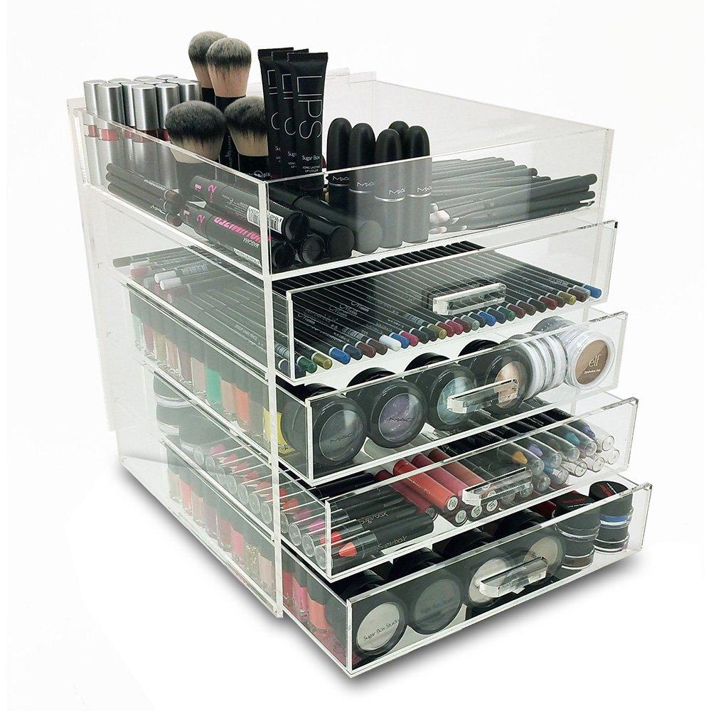 OnDisplay Medium 5 Tier Acrylic Cosmetic/Makeup Organizer