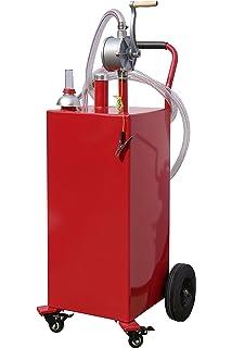 Amazoncom SUNCOO 30 Gallon Portable Gas Caddy Diesel Fuel Tank